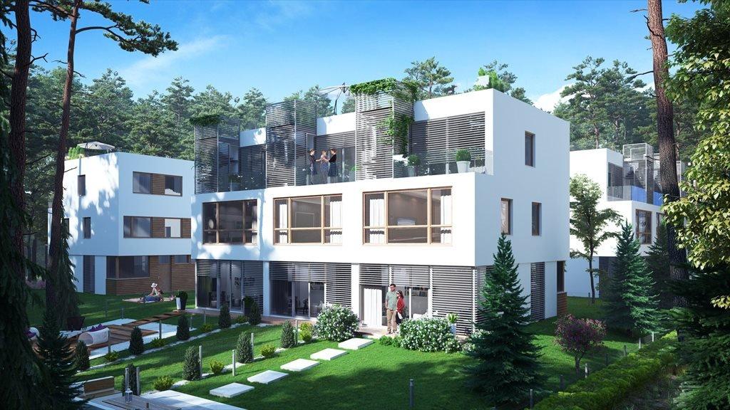 Nowy dom Kompozycja Residence Konstancin-Jeziorna, Ul. Wilanowska 24  150m2 Foto 1