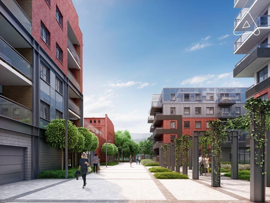 Nowe mieszkanie trzypokojowe Browary Wrocławskie  Mieszkania 1-5 pokojowe od 33 do 117 m2 Wrocław, Śródmieście, Jedności Narodowej  51m2 Foto 2