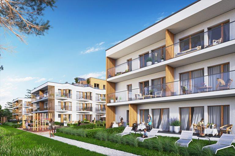Nowe mieszkanie trzypokojowe Let's Sea Baltic Park Gąski, Nadbrzeżna  60m2 Foto 3