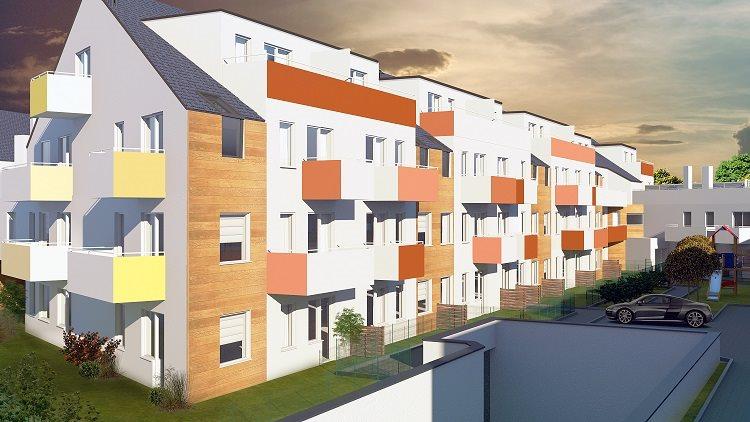 Nowe mieszkanie czteropokojowe  Osada Kolorowa Wrocław, Maślice, Maślicka  79m2 Foto 5