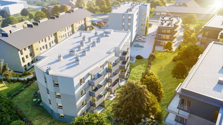 Nowe mieszkanie dwupokojowe Przewóz 18 Kraków, Podgórze, Przewóz 18  44m2 Foto 4