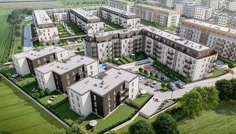 Nowe mieszkanie dwupokojowe KAJDASZA Wrocław, Krzyki, Kajdasza  69m2 Foto 10
