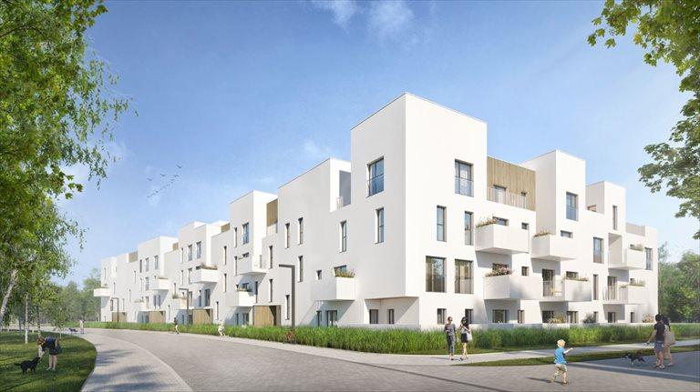 Nowe mieszkanie dwupokojowe Bacciarellego 54 Wrocław, Bartoszowice, Marcelego Bacciarellego 54  47m2 Foto 1