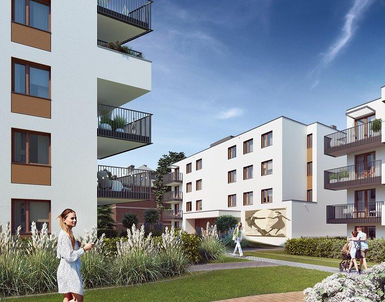 Nowe mieszkanie trzypokojowe Fredry 6 Kraków, Krakowskie Łagiewniki, Fredry 6  53m2 Foto 1