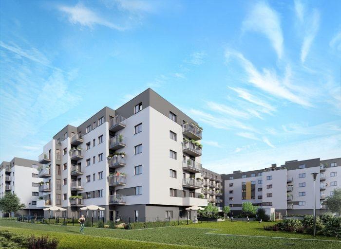 Nowe mieszkanie trzypokojowe Nowe Ogrody Poznań, Jeżyce, Wola, Meissnera 2  60m2 Foto 1