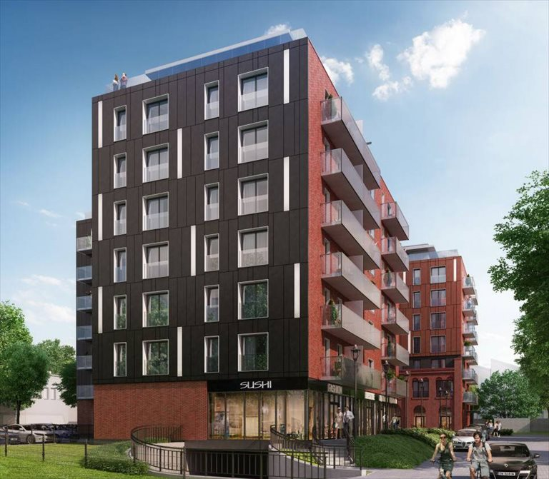 Nowe mieszkanie dwupokojowe APARTHOTEL HALO Wrocław, Stare Miasto, Tęczowa 29A-31A  48m2 Foto 1