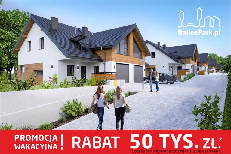 Nowy dom Balicka Park , kameralne osiedle 10 domów w zabudowie bliźniaczej , 140,8 m2 Kraków, Balice, Urocza  141m2 Foto 1