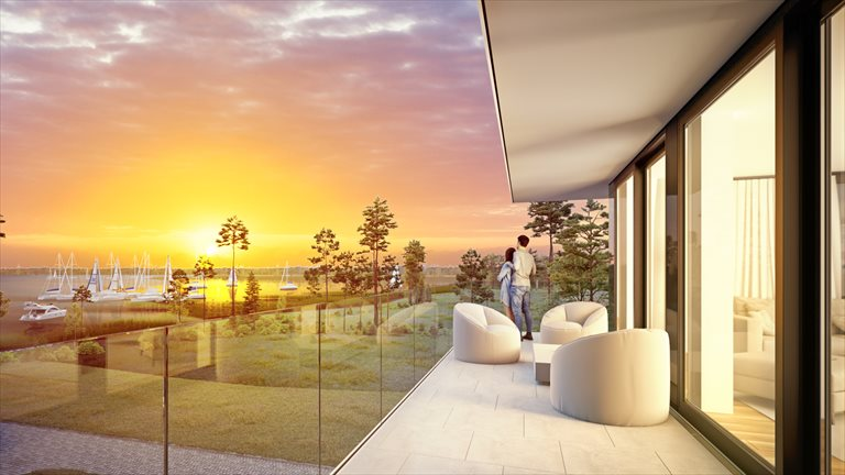 Nowe mieszkanie dwupokojowe Sea & Lake Luxury Apartments Resort Mielno, Unieście, Sosnowy las  34m2 Foto 10