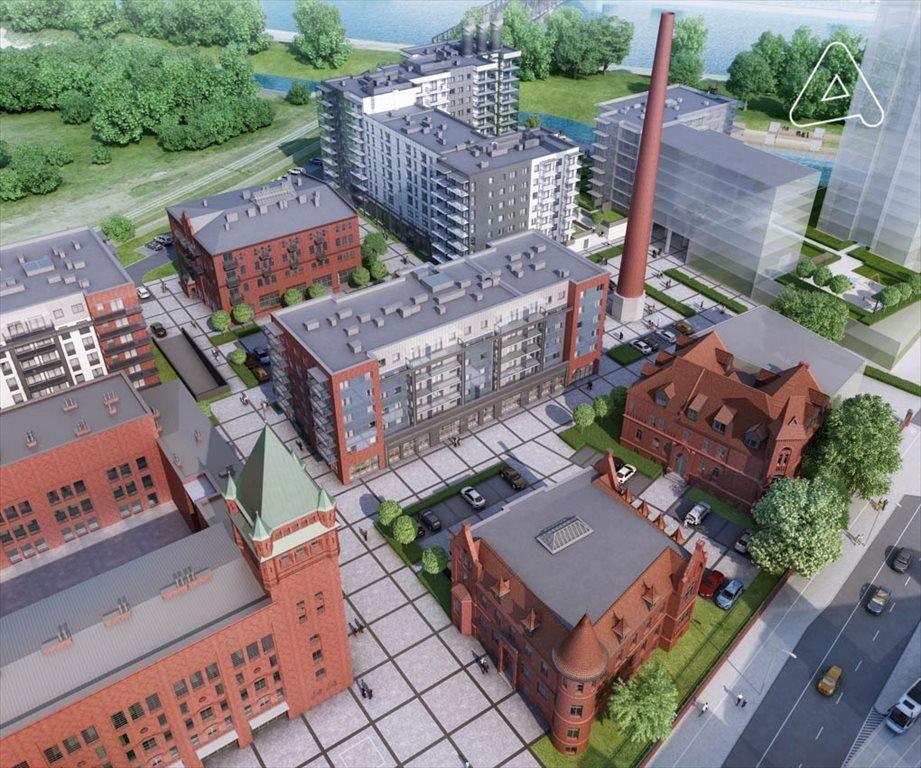 Nowe mieszkanie trzypokojowe Browary Wrocławskie  Mieszkania 1-5 pokojowe od 33 do 117 m2 Wrocław, Śródmieście, Jedności Narodowej  51m2 Foto 8