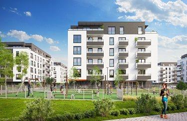 Nowe mieszkanie dwupokojowe Osiedle Franciszkańskie Południe Katowice, Ligota-Panewniki, Franciszkańskie, Kijowska 44  49m2 Foto 6