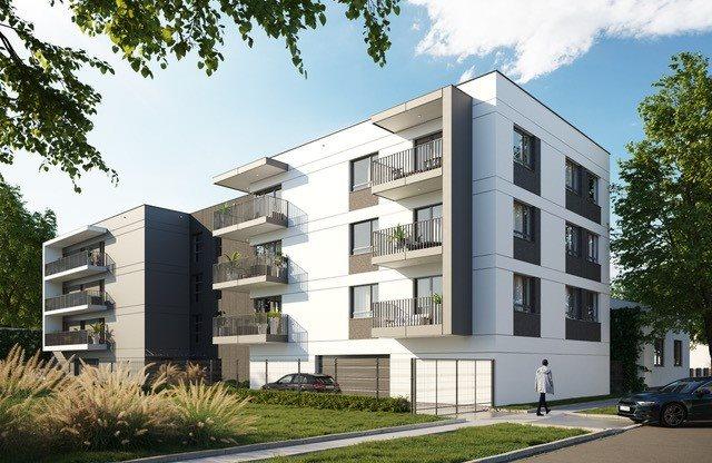 Nowe mieszkanie dwupokojowe MELIA APARTAMENTY II Łódź, Chojny, Grażyny 16  45m2 Foto 1
