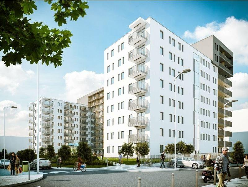 Nowe mieszkanie trzypokojowe SŁONECZNE OGRODY ETAP II Lublin, Bronowice, ul. Wrońska  63m2 Foto 1