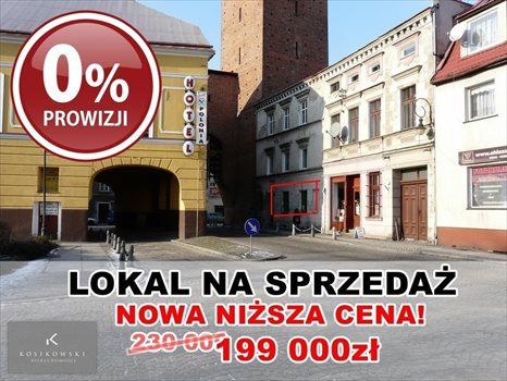 Lokal użytkowy na sprzedaż Namysłów Bohaterów Warszawy